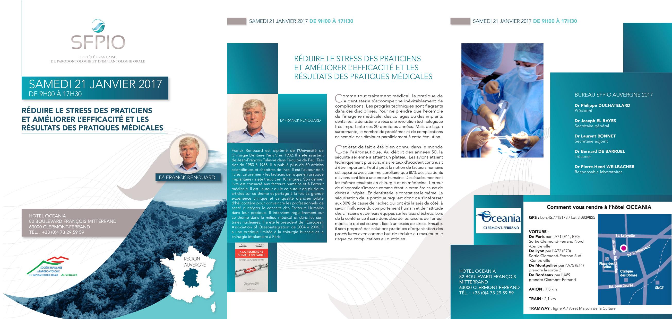 SFPIO Auvergne - réduire le stress des praticiens
